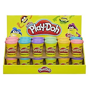 Play-Doh, Putty, and Sand